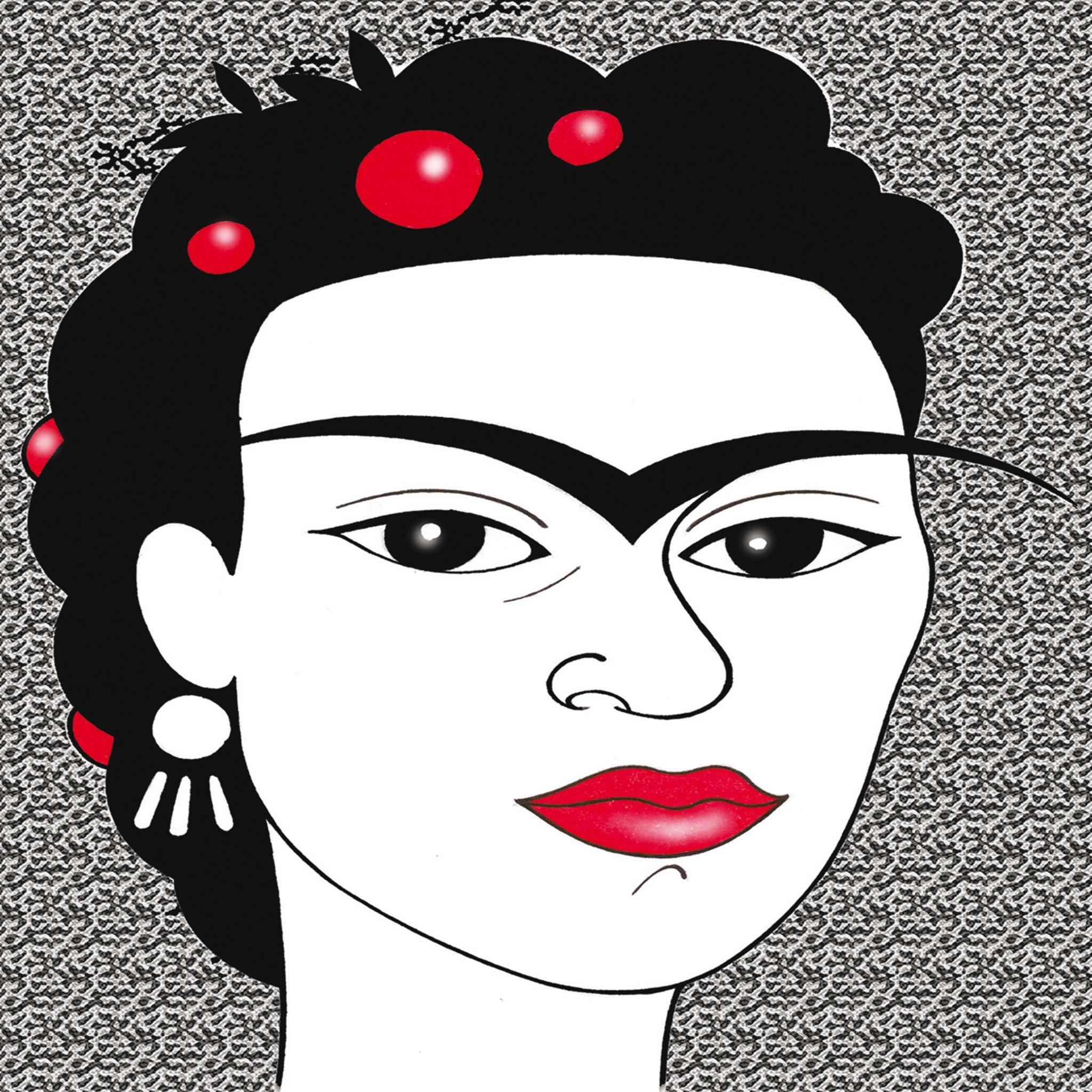 Frida Kalho por Cristina Figueroa
