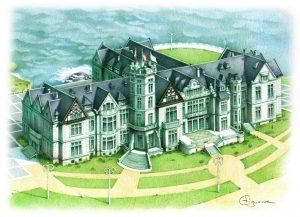 Ilustración Palacio de La Magdalena