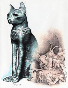 El gato en la historia por Cristina Figueroa