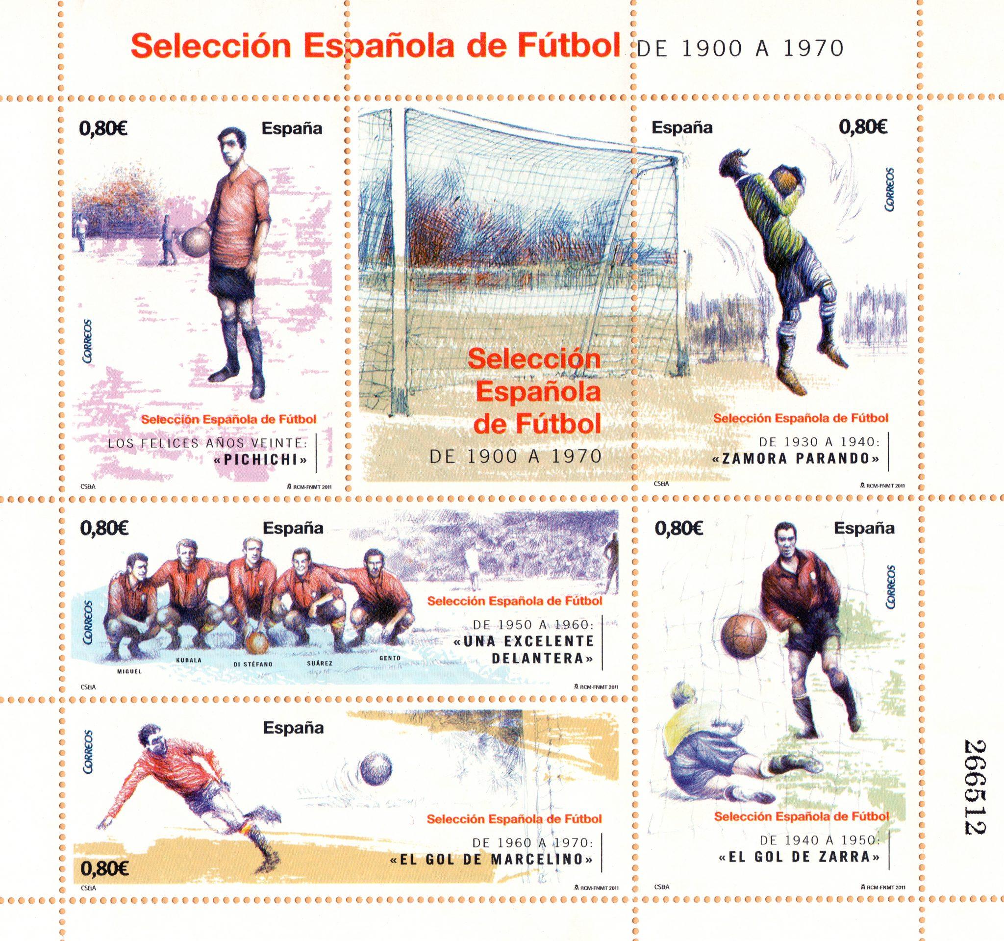 sellos selección española por Cristina Figueroa