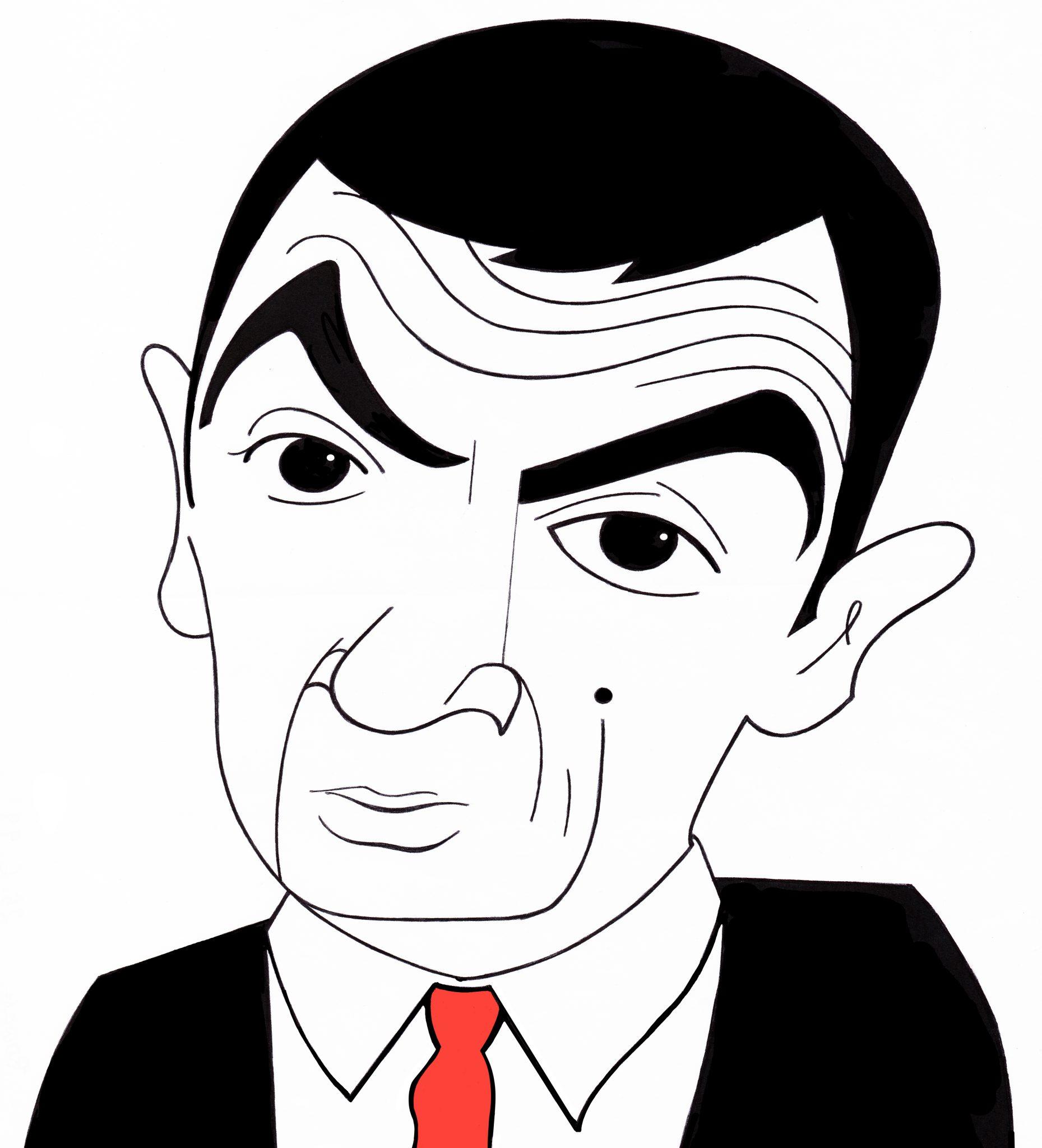 Mr Bean por Cristina Figueroa