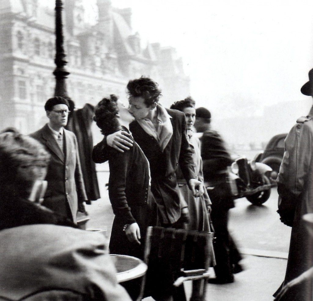 """El beso"" de Robert Doisneau"